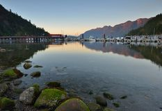 Horseshoe Bay Sunset Royalty Free Stock Image