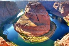 Horseshoe Bend. Of Colorado River Stock Photos