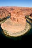 Horseshoe Bend. Famous horseshoe bend in northern arizona USA Stock Photography