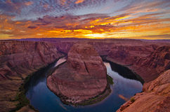 Horseshoe Bend Royalty Free Stock Image