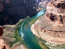 Horseshoe Bend, Arizona. View of Horseshoe Bend in Arizona, USA Stock Image