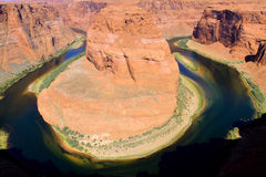 Horseshoe bend in Arizona Stock Photography