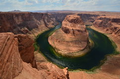 Horseshoe Bend, Arizona Stock Photo