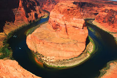Horseshoe Bend, Arizona Stock Photography