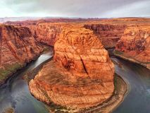 Horseshoe bend. At arizona Stock Photography