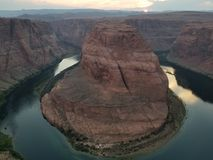 Horseshoe Bend Arizona royalty free stock photos