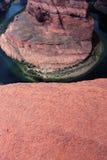 Horseshoe bend, Arizona. Horseshoe bend on the Colorado River, Arizona, United States Royalty Free Stock Image