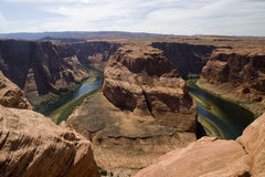 Horseshoe bend canyon Royalty Free Stock Photos