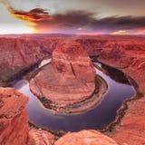 Horseshoe Bend Canyon, Arizona Royalty Free Stock Images