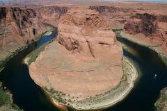Horseshoe bend of Colorado Royalty Free Stock Image