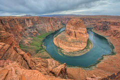 Horseshoe Bend Colorado River Stock Photo