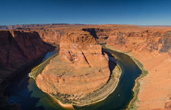Horseshoe Bend of the Colorado river Stock Photos