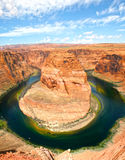 Horseshoe bend - colorado river Royalty Free Stock Photos