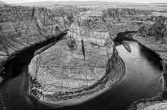 Horseshoe Bend, Colorado River, Arizona stock photo