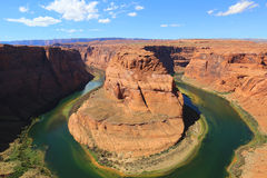Horseshoe Bend on the Colorado River in Arizona Stock Photography