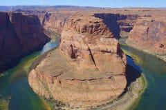 Horseshoe Bend on the Colorado River in Arizona, USA Stock Photos