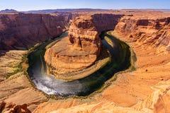 Horseshoe bend Grand Canyon Royalty Free Stock Image