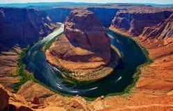 Horseshoe bend, Colorado river, Page, Arizona Royalty Free Stock Photo