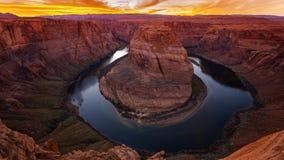 Horseshoe Bend, Colorado River, Page, Arizona Royalty Free Stock Image