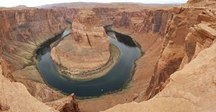 Horseshoe Bend on the Colorado river royalty free stock images