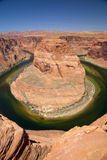 Horseshoe Bend at the Colorado River Royalty Free Stock Photo