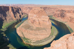 Horseshoe Bend in the Colorado River royalty free stock images