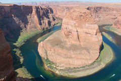 Horseshoe Bend in the Colorado River royalty free stock image