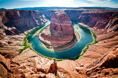 Horseshoe Bend. Colorado river, USA royalty free stock image