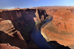 Horseshoe Bend Glen Canyon Colorado River Arizona Stock Images