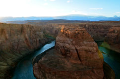 Horseshoe Bend. In Glen Canyon USA. Taken December 2012 Royalty Free Stock Photography