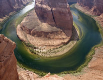 Horseshoe Bend, Grand Canyon, Colorado River, Arizona Stock Image