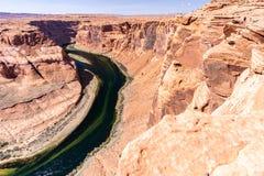 Horseshoe bend Grand Canyon Royalty Free Stock Photos