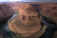 Horseshoe Bend HDR Royalty Free Stock Image