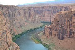 Horseshoe Bend Stock Photography