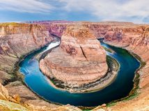 Horseshoe Bend Natural Wonder Stock Photography
