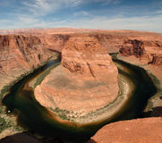 Horseshoe Bend near Page Arizona Stock Image