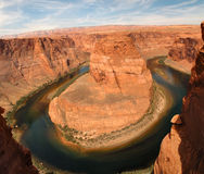 Horseshoe Bend near Page Arizona Stock Images