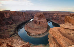 Horseshoe Bend near Page Royalty Free Stock Photography