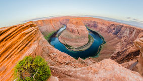 Horseshoe Bend near Page Arizona Royalty Free Stock Images