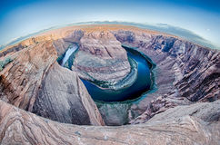 Horseshoe Bend near Page Arizona Stock Photos
