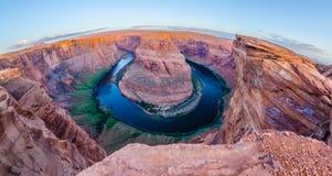 Horseshoe Bend near Page Arizona Stock Photo