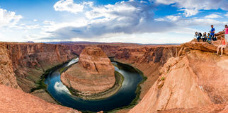 Horseshoe Bend near Page, Arizona Stock Photo