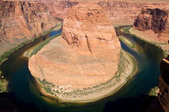 Horseshoe Bend in Northern Arizona USA Stock Photo