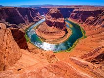 Free Horseshoe Bend On The Colorado River Near Page, Arizona, USA Stock Images - 104865154