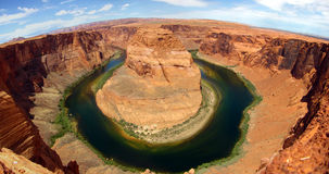 Horseshoe Bend - Page - Arizona Stock Photo