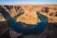 Horseshoe Bend, Page Arizona stock photo
