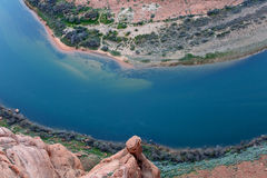 Horseshoe Bend, Page, Arizona Royalty Free Stock Photography