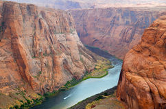 Horseshoe Bend in Page, Arizona USA Stock Image