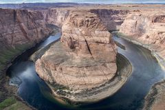 Horseshoe Bend, Page, Arizona Royalty Free Stock Image