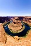 Horseshoe Bend. Portrait image of Horseshoe Bend, Page, Arizone Royalty Free Stock Photography